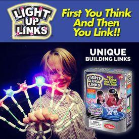 Fascinujúca svetielkujúca skladačka Light Up Links