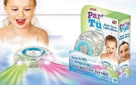 Plávajúci svetelný disk - Party in the Tub