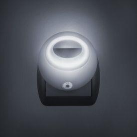 Štýlové nočné svetlo so stmievacím senzorom - biele