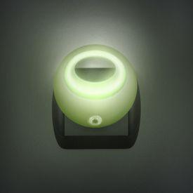 Štýlové nočné svetlo so stmievacím senzorom - zelené