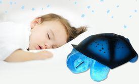 Svietiaca korytnačka - modrá
