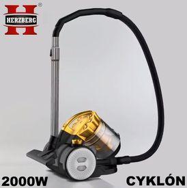 Výkonný Cyklón-bezvreckový super vysávač 2000 W 2v1