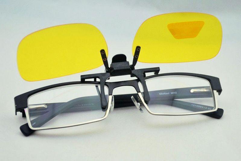 Clip ons - klip na okuliare pre nočné videnie polarizačné  cbed9da2a01