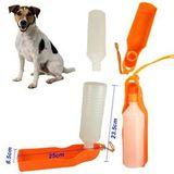Cestovná fľaša pre psa s miskou