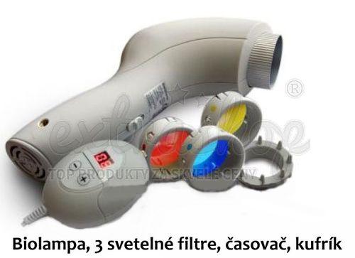 2 x Biolampa Eifa D514 3 farby + darček podľa výberu