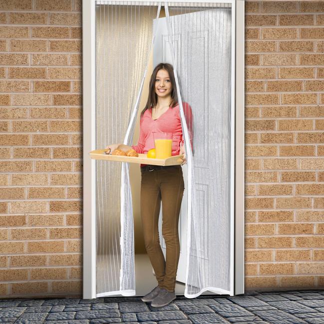 magneticka sietka proti hmyzu biela okn a dvere. Black Bedroom Furniture Sets. Home Design Ideas