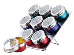 10-dielna sada farebných magnetických koreničiek