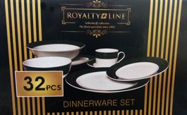 32-dielny porcelánový set Royalty Line