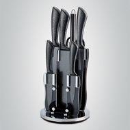 8-dielna sada kamenných nožov so stojanom Royalty Line Black