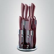 8-dielna sada kamenných nožov so stojanom Royalty Line Red