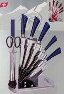 8-dielna sada nerezových nožov so stojanom Bachmayer