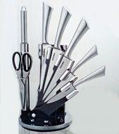8-dielna sada nerezových nožov so stojanom Vitara