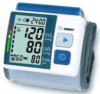 Automatický digitálny tlakomer a pulzomer