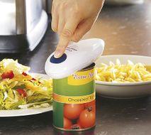 Automatický otvárač na konzervy + gratis pomôcka pre otváranie zaváraninových fliaš