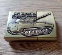 Benzínový zapaľovač Tanky 2