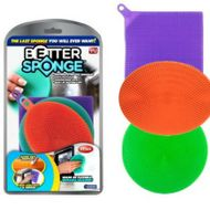 Better sponge univerzálna silikónová špongia 3 ks