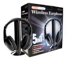 Bezdrôtové slúchadlá 5v1 s rádiom Encore MH2001