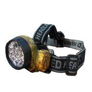 Čelovka s motívom lístia 14 X LED