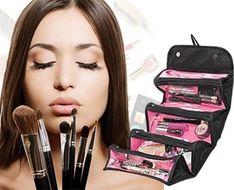 Cestovná rolovacia taška na kozmetiku
