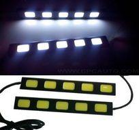 COB LED diódové svetlá pre denné svietenie auta