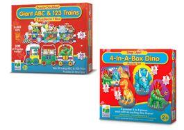 Detský puzzle set dinosaury
