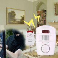 Domáci alarm s PIR a 2x diaľkový ovládač