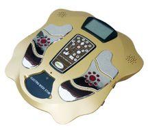 Elektrický stimulátor chodidiel a svalov s prídavným zoštíhľujúcim pásom