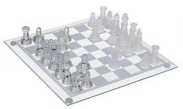 Exkluzívne sklenené šachy