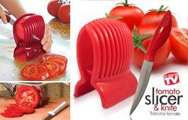 Forma na krájanie rajčín + nôž