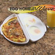 Forma na prípravu omelety v mikrovlnke Egg & Omelet