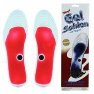 Magnetické gélové vložky do topánok červené