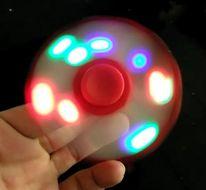 Hand spinner s LED - antistresová pomôcka
