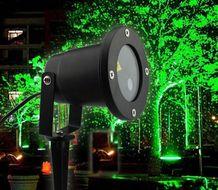 Laserový projektor s vianočným osvetlením