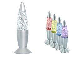 Lávová lampa glitter