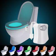 LED osvetlenie WC so senzorom pohybu