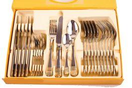 Luxusná 24-dielna sada príborov Florence Silver Royal