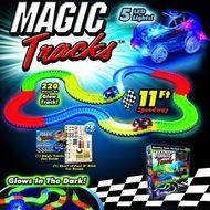Magic Tracks svietiaca autodráha 220 ks