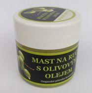 Masť na ruky s olivovým olejom 150ml