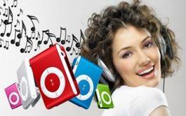 MP3 prehrávač clip