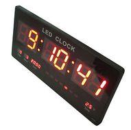 Multifunkčné digitálne hodiny na stenu XXL