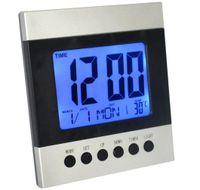 Multifunkčné hodiny s podsvietením, teplomerom, časovačom a senzorom pohybu
