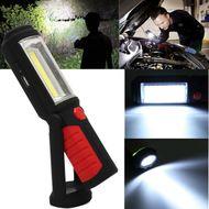 Nabíjateľné COB svietidlo s magnetom a hákom