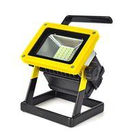 Nabíjateľný samostatne stojaci LED reflektor 10W