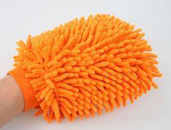 Obojstranná čistiaca rukavica z mikrovlákna