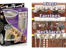 Organizér na šperky BLING EEZ - závesné vešiačiky