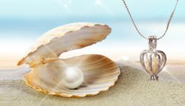 Perla splnených prianí v skutočnej perlorodke