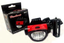 Praktická čelová baterka s duálnym zdrojom svetla