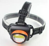 TMN Praktická čelová baterka so silným COB svetlom