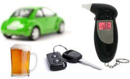 Praktický vreckový digitálny alkohol tester