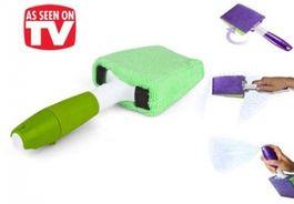 Rozprašovač s handričkou z mikrovlákna 2v1